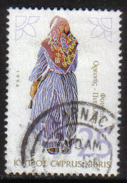 Cyprus Stamps SG 871 1994 25c - USED (h062)