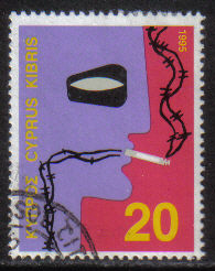 Cyprus Stamps SG 888 1995 20c - USED (h078)