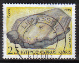 Cyprus Stamps SG 937 1998 25c - USED (h105)