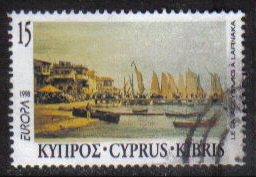 Cyprus Stamps SG 939 1998 15c - USED (h108)