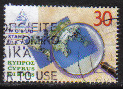 Cyprus Stamps SG 960 1998 World Stamp day - USED (h115)