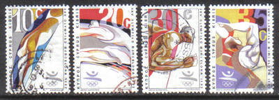 Cyprus Stamps SG 811-14 1992 Barcelona Olympic Games - USED (h143)
