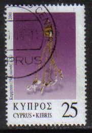 Cyprus Stamps SG 0987 2000 25c - USED (h195)