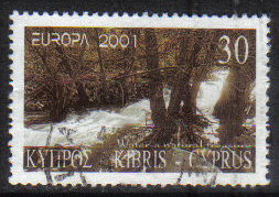Cyprus Stamps SG 1016 2001 30c - USED (h217)