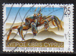 Cyprus Stamps SG 1019 2001 25c - USED (h218)