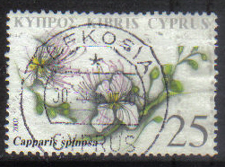 Cyprus Stamps SG 1033 2002 25c - USED (h221)