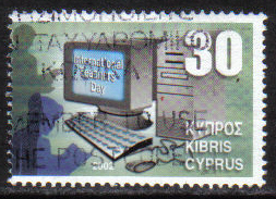 Cyprus Stamps SG 1037 2002 30c - USED (h226)