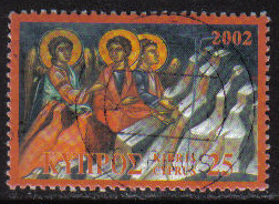 Cyprus Stamps SG 1046 2002 25c Christmas - USED (h228)