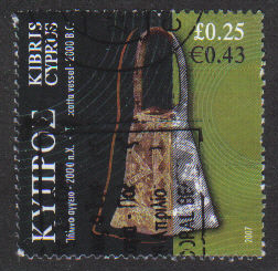Cyprus Stamps SG 1141 2007 25c - USED (h259)