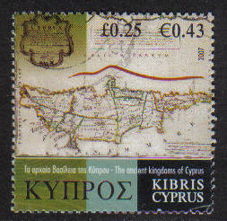 Cyprus Stamps SG 1144 2007 25c - USED (h262))