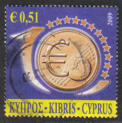 Cyprus Stamps SG 1182 2009 51c - USED (h305)