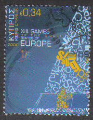 Cyprus Stamps SG 1191 2009 34c - USED (h307)