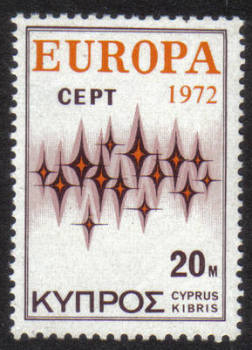 Cyprus Stamps SG 387 1972 20 mils - MINT