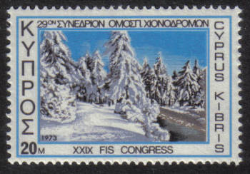 Cyprus Stamps SG 401 1972 20 mils - MINT