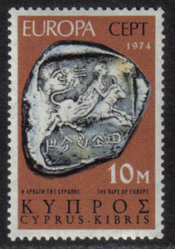 Cyprus Stamps SG 423 1974 10 mils - MINT