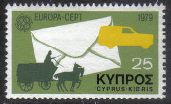 Cyprus Stamps SG 520 1979 25 mils - MINT