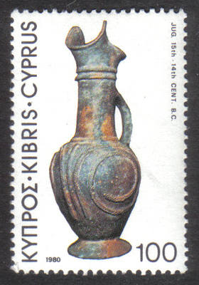Cyprus Stamps SG 551 1980 100 mils - MINT