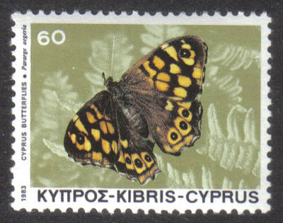 Cyprus Stamps SG 604 1983 60 mils - MINT