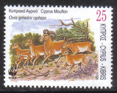 Cyprus Stamps SG 942 1998 25 cent - MINT