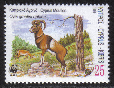 Cyprus Stamps SG 944 1998 25 cent - MINT
