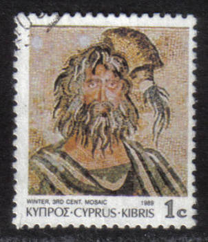 Cyprus Stamps SG 756 1989 1 cent - USED (h331)