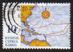 Cyprus Stamps SG 818 1992 10c - USED (h339)