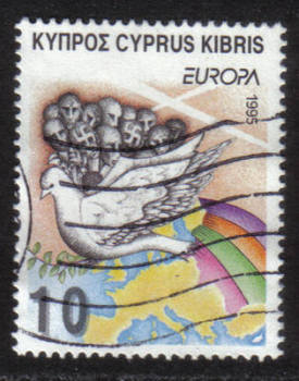 Cyprus Stamps SG 883 1995 10c - USED (h346)