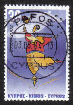 Cyprus Stamps SG 1030 2002 30 cent - USED (h359)