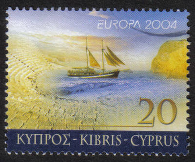 Cyprus Stamps SG 1073 2004 20 cent - USED (h362)