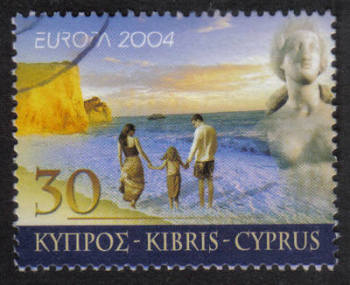 Cyprus Stamps SG 1074 2004 30 cent - USED (h363)