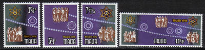 Malta Stamps SG 0611-14 1978 Christmas - MINT