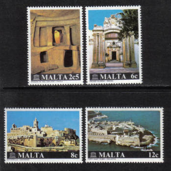 Malta Stamps SG 0641-44 1980 Maltese monuments - MINT