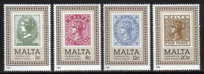 Malta Stamps SG 0751-54 1985 Malta post office - MINT