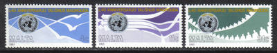 Malta Stamps SG 0764-66 1985 United Nations - MINT