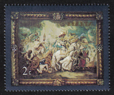 Malta Stamps SG 0615 1979 2c Flemish Tapestries - MINT