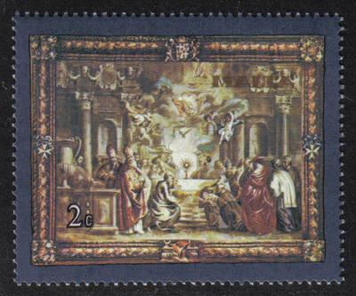 Malta Stamps SG 0638 1980 2c Flemish Tapestries - MINT