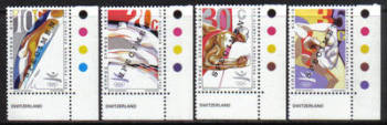 Cyprus Stamps SG 811-14 1992 Barcelona Olympic Games - Specimen MINT (h410)