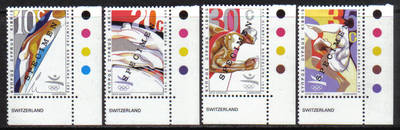 Cyprus Stamps SG 811-14 1992 Barcelona Olympic Games - Specimen MINT (h410)