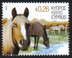 Cyprus Stamps SG 1264 2012 26c Horse - MINT