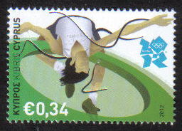 Cyprus Stamps SG 1272 2012 34c Olympics - MINT