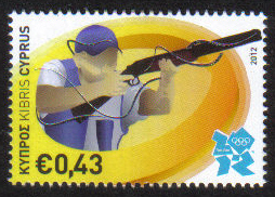 Cyprus Stamps SG 2012 (b) 43c Olympics - MINT