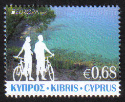 Cyprus Stamps SG 2012 (e) 68c Europa Visit - MINT
