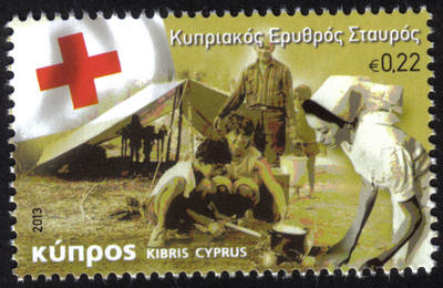 Cyprus Stamps SG 2013 (c) The Cyprus Red Cross - MINT