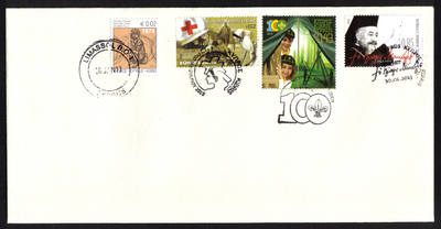 Cyprus Stamps SG 2013 (a) 30th of January Issues Makarios, Cyprus Scouts an