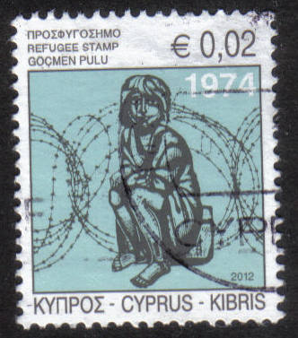 Cyprus Stamps 2012 Refugee Fund Tax - USED (h461)