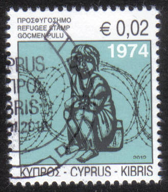 Cyprus Stamps 2012 Refugee Fund Tax - CTO USED (h457)