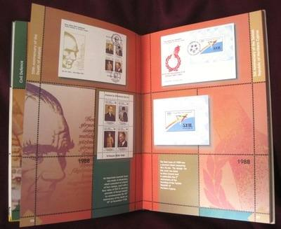 Turkish Cyprus Commemorative Issues of postage stamps 1970 - 1998 reference