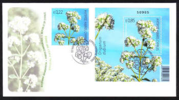 Cyprus Stamps SG 1299-1300 2013 Aromatic stamp Oregano - Official FDC