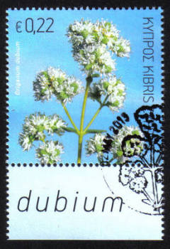 Cyprus Stamps SG 1299 2013 Aromatic stamp Oregano 22 cents - CTO USED (h485)