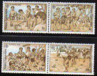 Cyprus Stamps SG 740-43 1989 Europa Childrens games - MINT